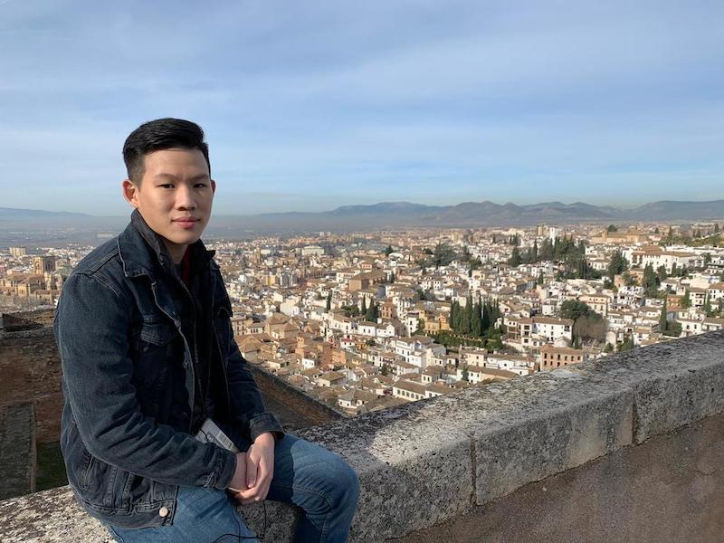 Darius Cheong gave up an offer from the University of Virginia in the United States. Instead, he will read business at the Singapore Management University. — Picture courtesy of Darius Cheong via TODAY