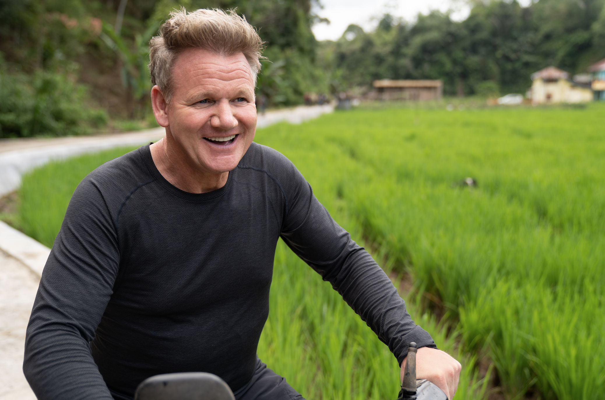 The Emmy-nominated TV personality said the ingredients sold in Indonesia's wet markets were stuff that any top-flight kitchen would fight to get their hands on. — Picture courtesy of National Geographic