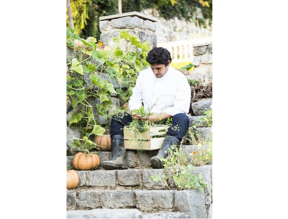 For the 50 Best 'Bid for Recovery' Auction, chef Mauro Colagreco is offering a day at the Mirazur and the opportunity to plant a tree in the restaurant gardens. — Picture courtesy of Mirazur