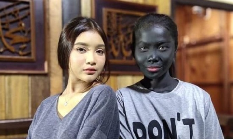 The show has been accused of promoting racism and colourism after videos of Wani Kayrie (right) in blackface circulated online. — Picture via Instagram/zeelproduction
