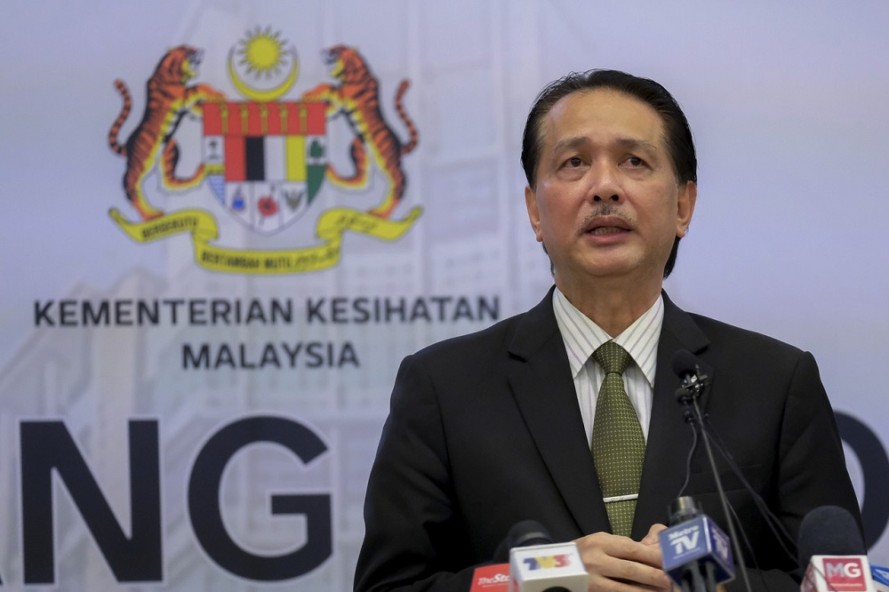 While Dr Noor Hisham previously advocated strongly for strict border controls, he conceded that a return to some normalcy for visitor arrivals was essential to the country's economic recovery. — Bernama pic