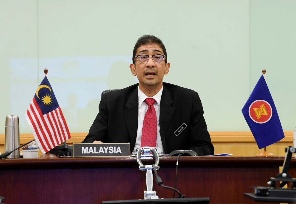 Deputy Communications and Multimedia Minister Datuk Zahidi Zainul Abidin said the reported cases involved cyberbullying, fraud, intrusion, hacking attempt and spam. — Bernama pic