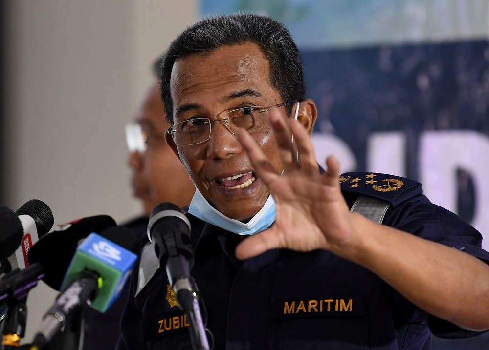 Malaysian Maritime Enforcement Agency (MMEA) director-general Datuk Mohd Zubil Mat Som said the draft of the MoU was currently at the final stage and would be submitted to the Attorney General's Chambers to be reviewed. — Bernama pic