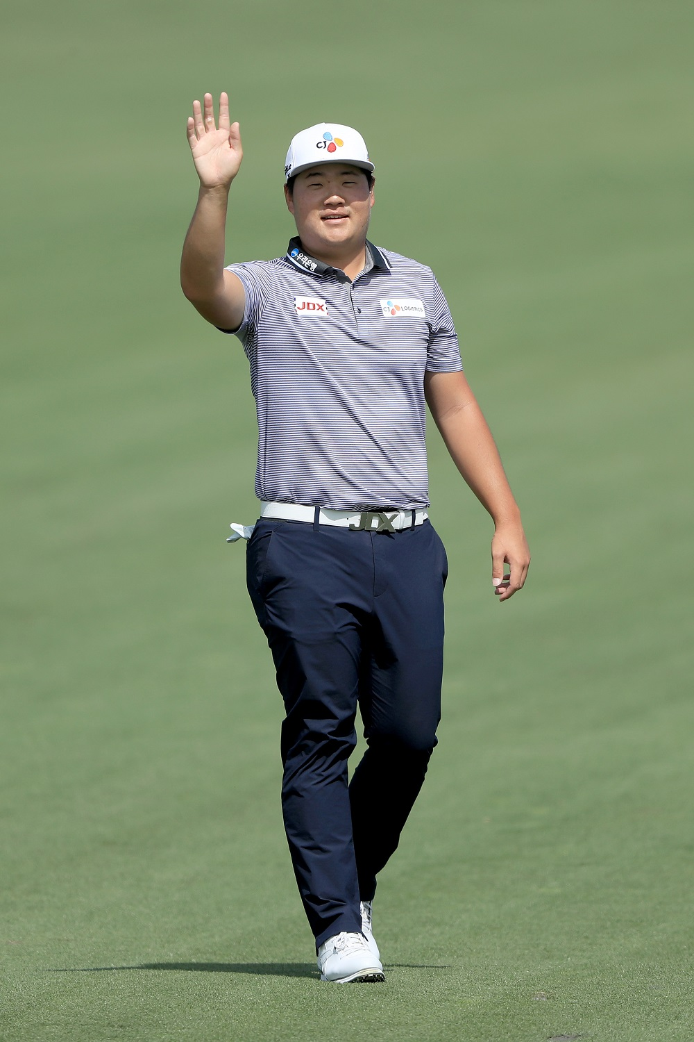 Sungjae Im says his goal is to make it to the weekend at Colonial Country Club. ― Picture via Getty Images