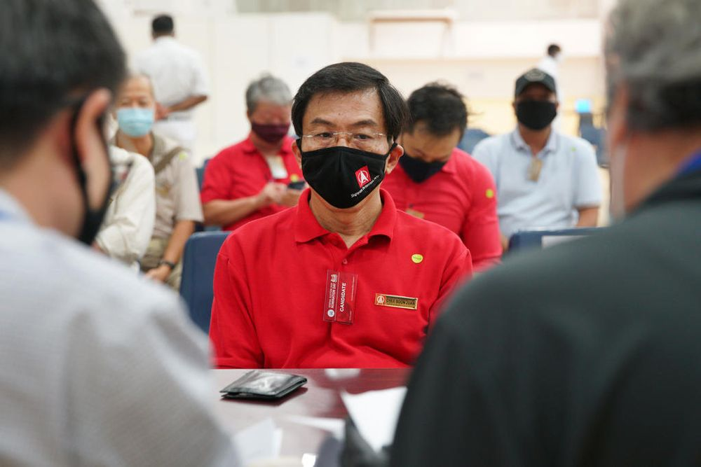 Dr Chee Soon Juan (pictured) from the Singapore Democratic Party is set for a rematch with Murali Pillai from the People's Action Party at Bukit Batok Single Member Constituency. — TODAY pic