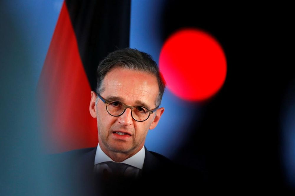 File picture shows German Foreign Minister Heiko Maas attending a news conference in Berlin, Germany, June 2, 2020. — Reuters pic