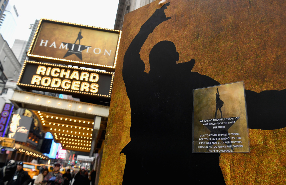 'Hamilton' is bringing its groundbreaking blend of hip-hop musical numbers, colour-blind casting and political revolution to Disney+ at a poignant moment in US racial history, its creator and original cast said. — AFP pic