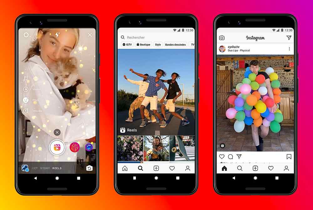 Instagram has launched a new video format, Reels. — Image courtesy of Instagram via AFP