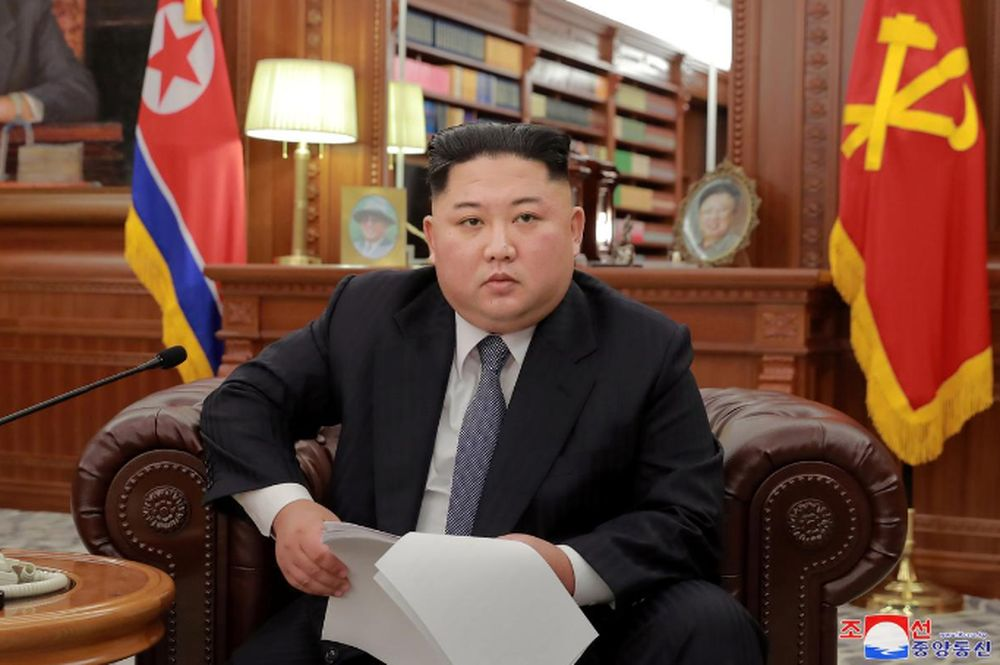 North Korean leader Kim Jong-un poses for photos in Pyongyang in this January 1, 2019 photo released by North Korea's Korean Central News Agency (KCNA). — KCNA/via Reuters