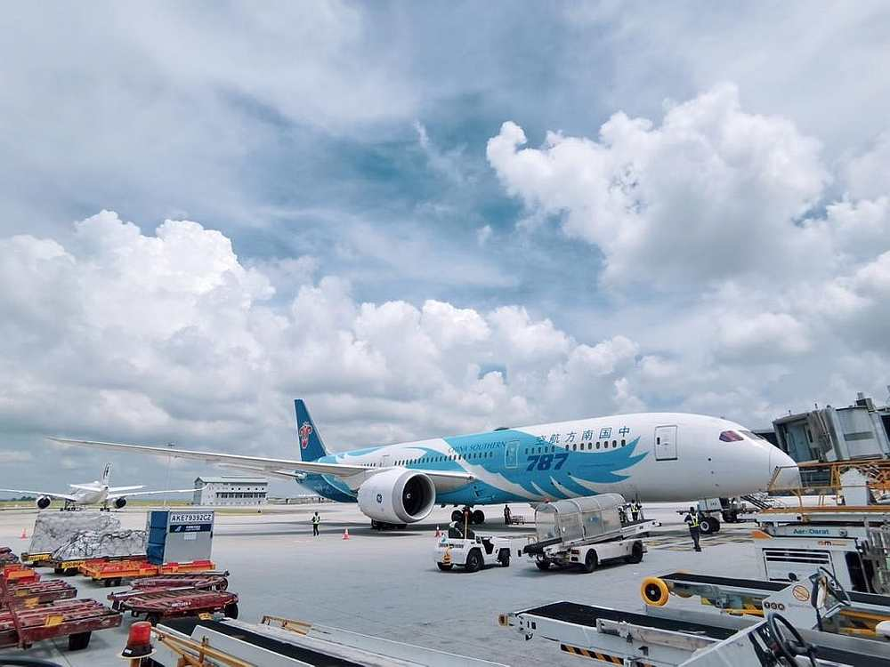 The aviation industry is among the most affected industries due to the closures of borders in most countries. — Picture courtesy of Twitter/ Malaysia Airport