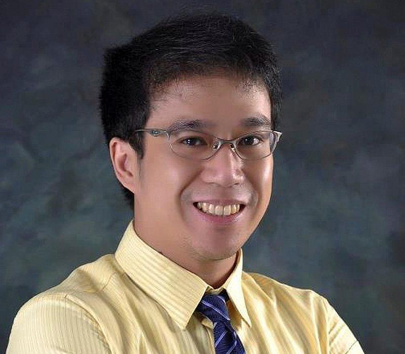Attorney Mark Tolentino poses in Makati City, Metro Manila, Philippines in this 2013 photo. — Mark Tolentino handout via Reuters