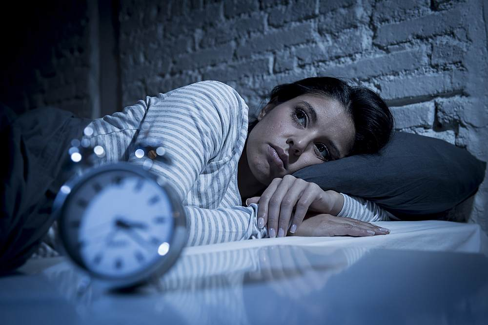 Not getting enough sleep can affect our positivity the next day, according to new research. — OcusFocus / Istock.com pic via AFP