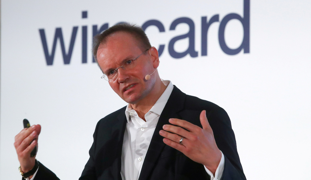 Wirecard AG CEO Markus Braun, an independent provider of outsourcing and white label solutions for electronic payment transactions, attends the company's annual news conference in Aschheim April 25, 2019. — Reuters pic