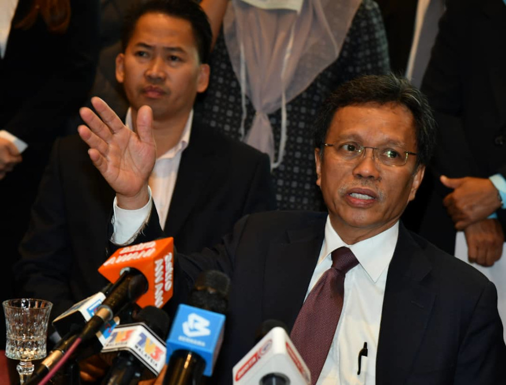 Sabah chief minister Datuk Seri Shafie Apdal said the federal government had allocated RM50 million to implement the plan in Kota Belud, but it had instead been used to carry out a feasibility study on the plan. — Picture by Julia Chan