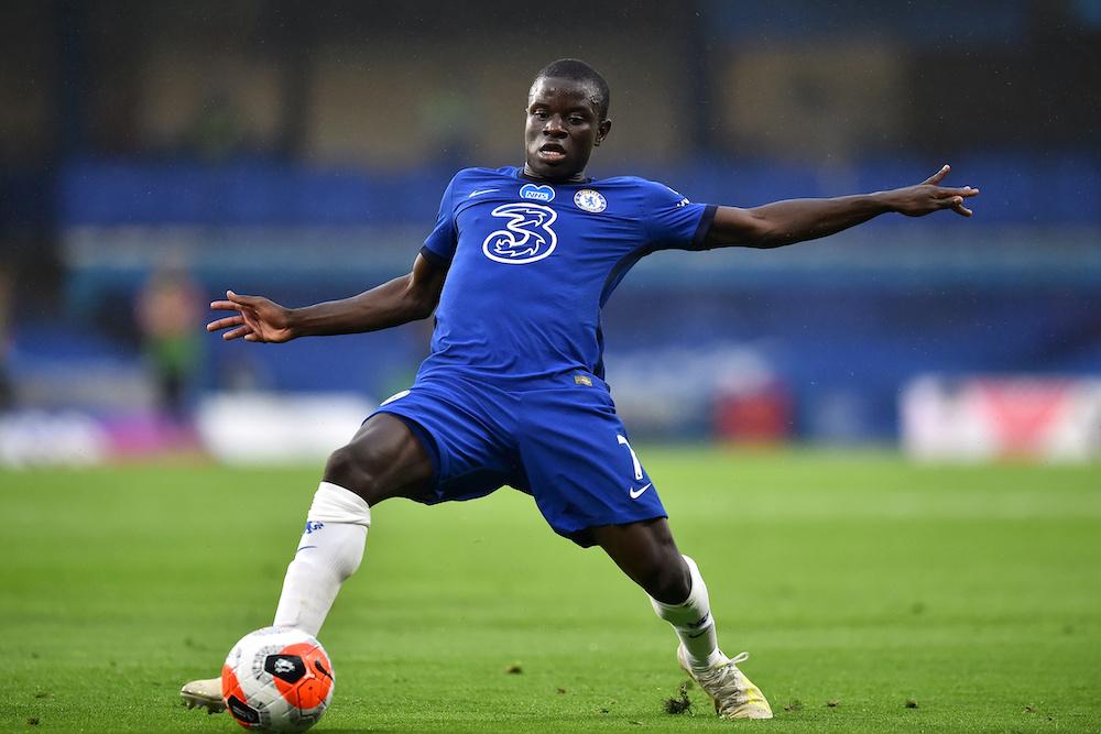 Chelsea's N'Golo Kante in action at Stamford Bridge, London July 4, 2020. — Glyn Kirk/Pool via Reuters