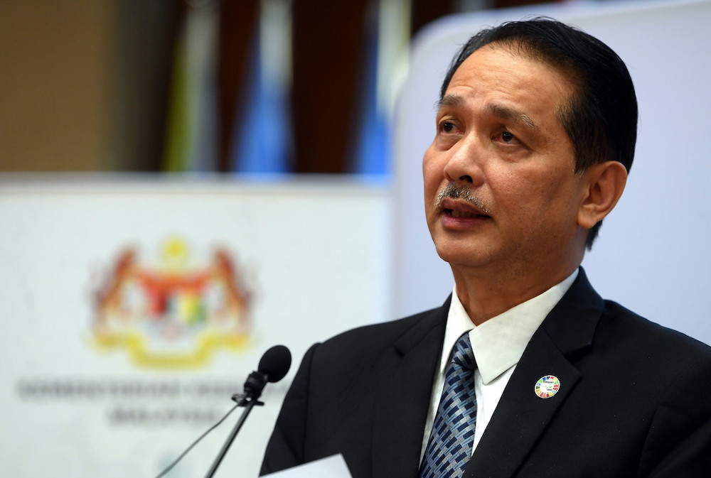 Health director-general Datuk Dr Noor Hisham Abdullah speaking at a daily press conference on the spread of the Covid-19 epidemic at the Ministry of Health in Putrajaya July 16, 2020. — Bernama pic