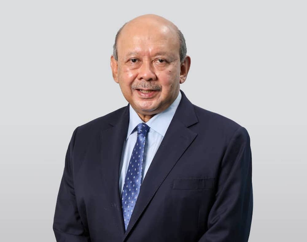 Tan Sri Syed Anwar Jamalullail will begin helming the position of Kenanga Investment Bank Bhd's chairman beginning July 1. — Picture courtesy of Kenanga Investment Bank Bhd
