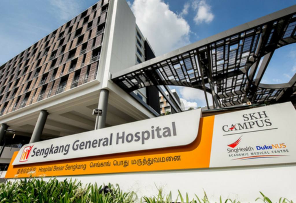 Sengkang General Hospital has reached out to the man's next-of-kin. — TODAY pic