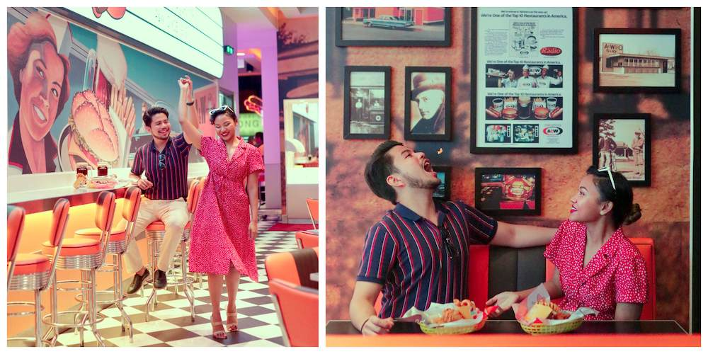 The iconic fast food eatery's latest outlet features the vibes the '60s, '70s and '80s. — Picture courtesy of A&W Malaysia