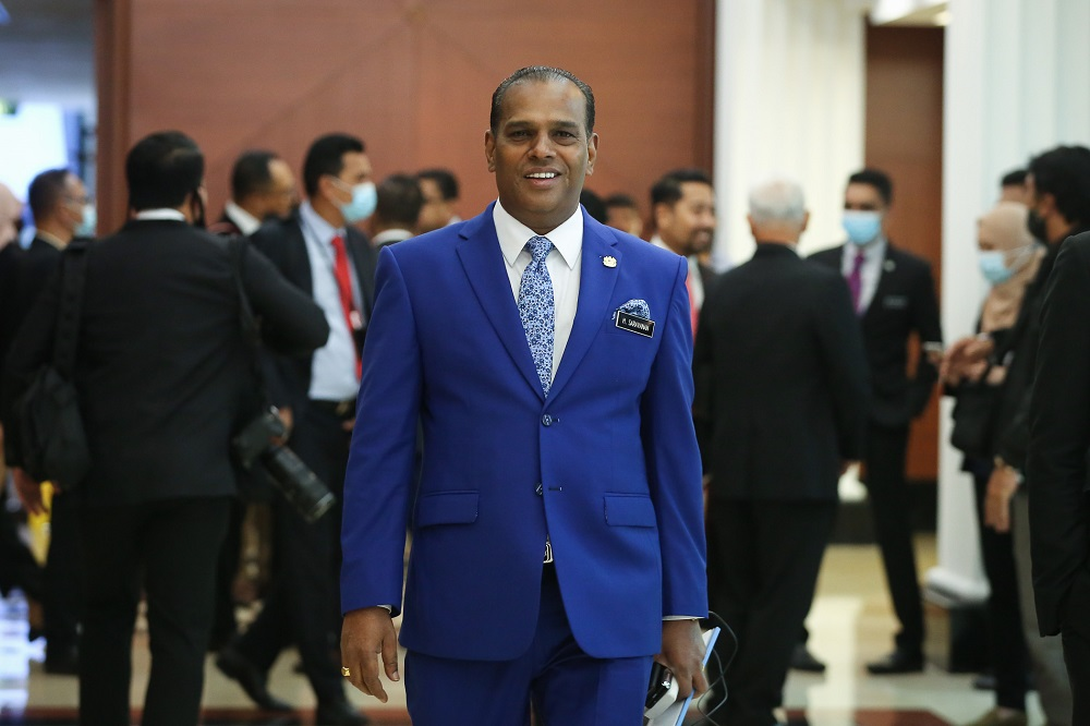 Human Resources Minister Datuk Seri M. Saravanan said the existing act, the Self-Employment Social Security Act 2017 (Act 789), must to be amended to enable the safety and interests of workers in the sectors concerned to be guaranteed. — Picture by Yusof Mat Isa