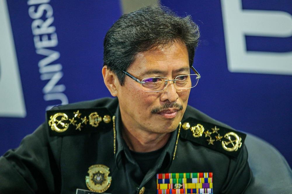 The Malaysian Anti-Corruption Commission (MACC) Chief Commissioner Datuk Seri Azam Baki at University Kuala Lumpur July 23, 2020. — Picture by Hari Anggara