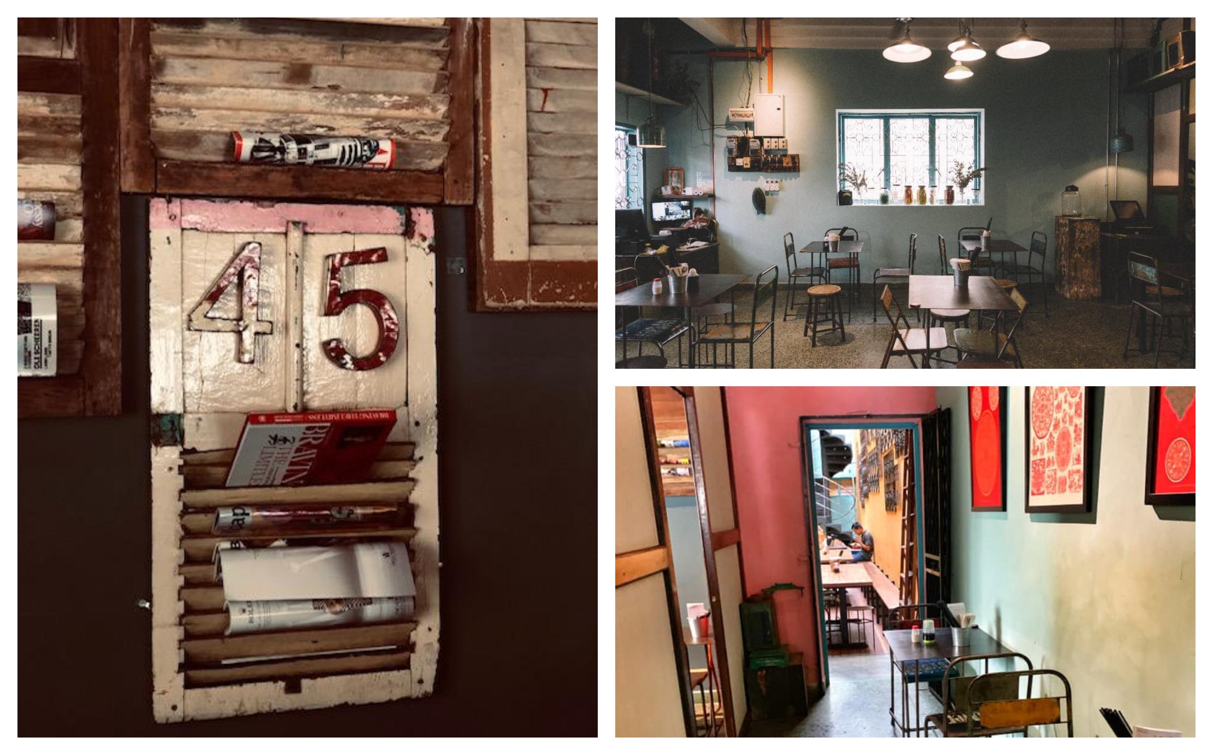 复古的装潢也让45 Speak Vezy Bar成为照片及打卡的景点。