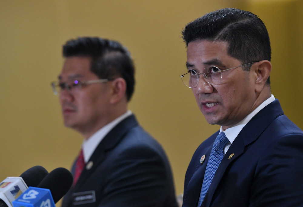 Minister of International Trade and Industry Datuk Seri Mohamed Azmin Ali said this would enable the country to capitalise on various aspects of digital transformation in line with the fourth industrial revolution (IR 4.0). — Bernama pic