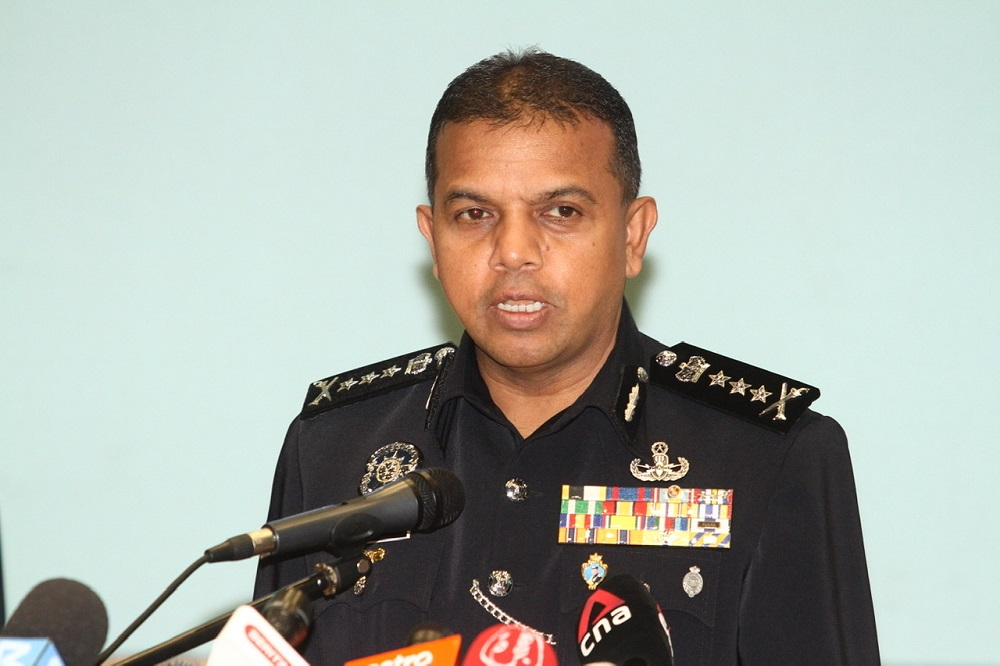 Johor police chief Datuk Ayob Khan Mydin Pitchay said the senior Immigration Department officer was detained at the state Immigration Department office in Johor Baru on Wednesday. — Picture by Ben Tan