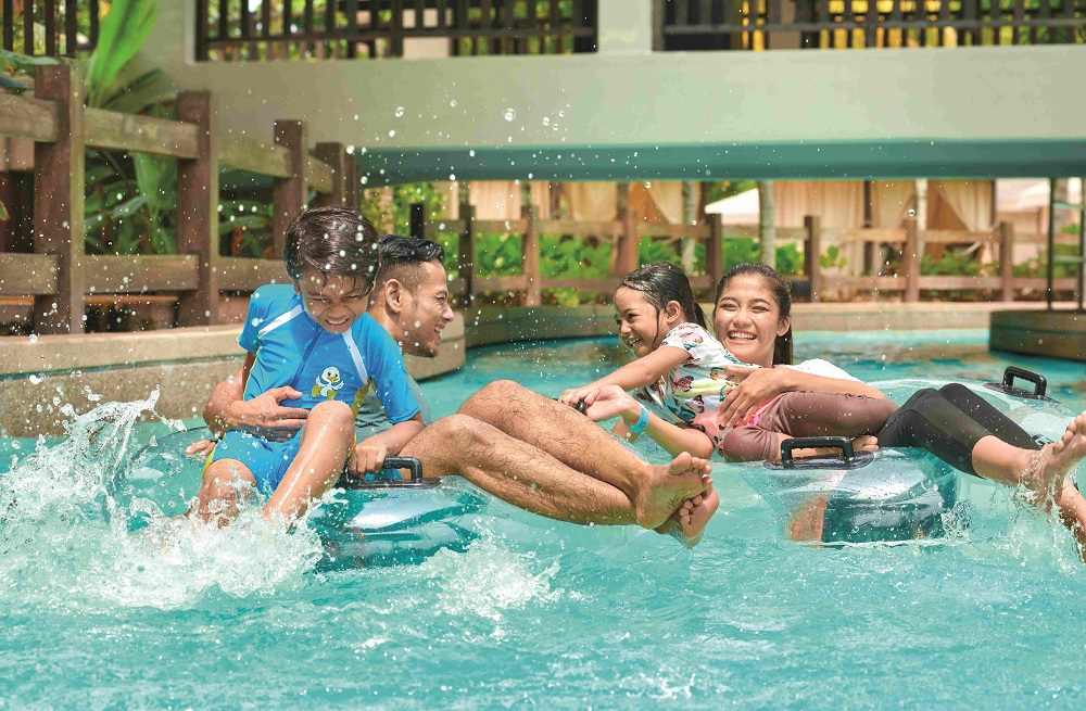 Water parks, a component of Malaysian theme parks. need to continuously ensure that pools are chlorinated. ― Picture courtesy of Desaru Coast Adventure Waterpark