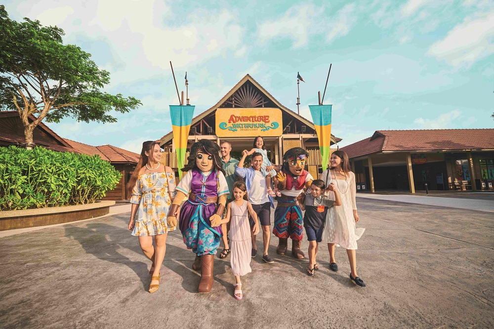 Local visitors have been visiting theme parks thanks to the easing of travel restrictions during the RMCO. ― Picture courtesy of Desaru Coast Adventure Waterpark