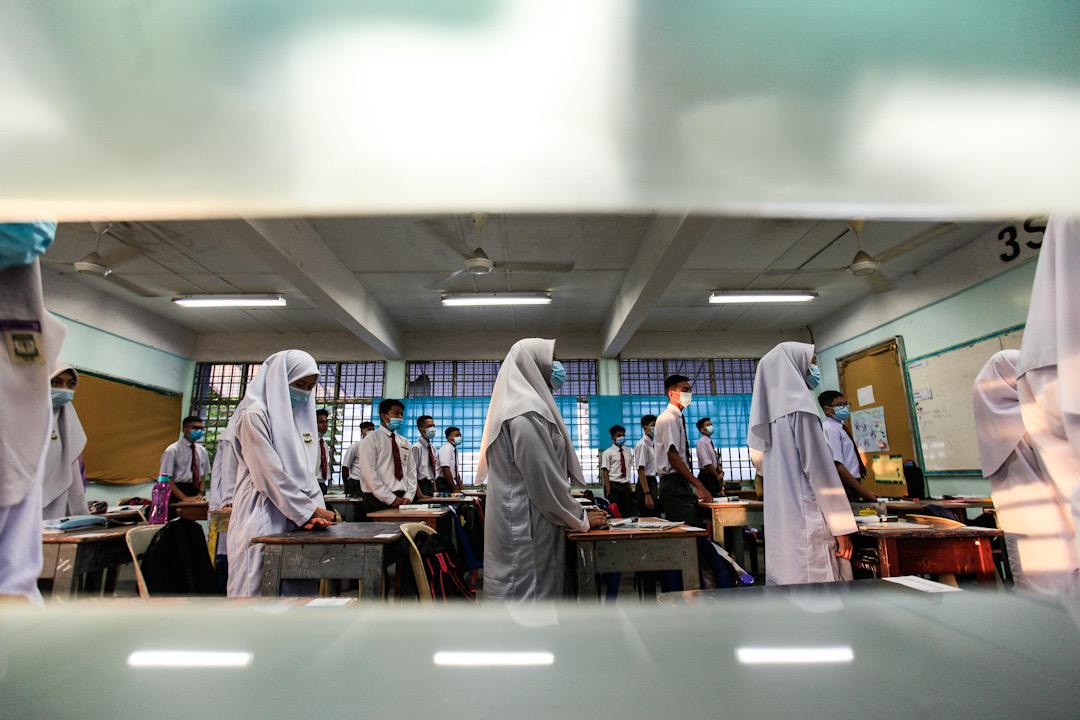 国家安全理事会特别会议早前已议决,教育部会胥视情况决定是否宣布沙巴所有学校停课。-Sayuti Zainudin摄-