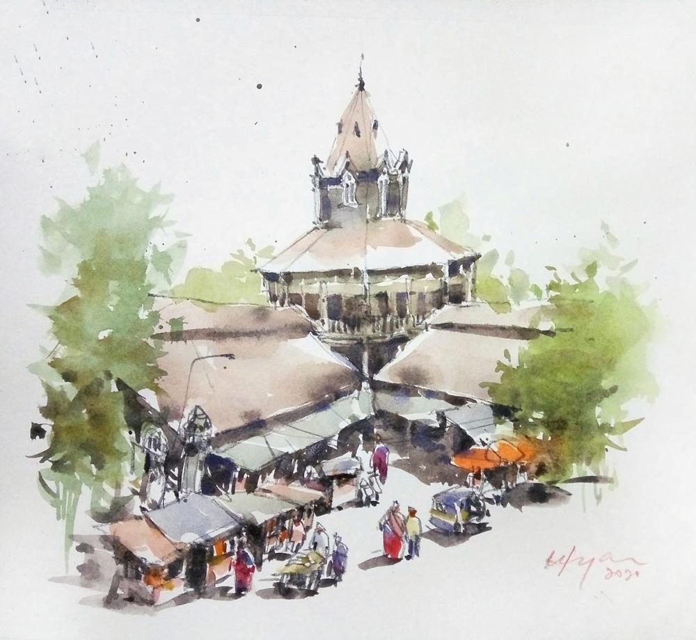 'Street of India' by Chin Kok Yan. ―Picture courtesy of Chin Kok Yan