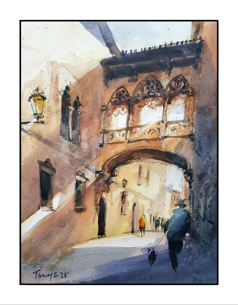 'Street of Spain' by Tony Chin. ―Picture courtesy of Chin Kok Yan