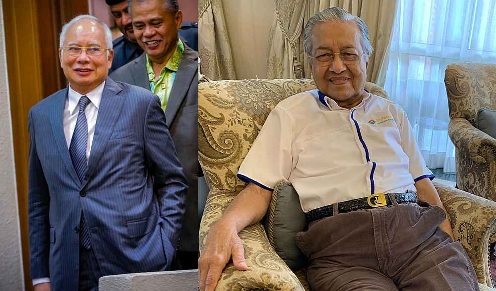 Birthday wishes for Mahathir came from both sides of the political divide. — Pictures by Hari Anggara and from Instagram/chedetofficial