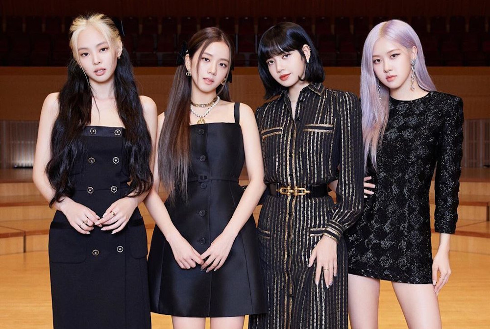(From left) Jennie, Jisoo, Lisa, and Rosé are raking in the views with their latest single. — Picture from Instagram/blackpinkofficial