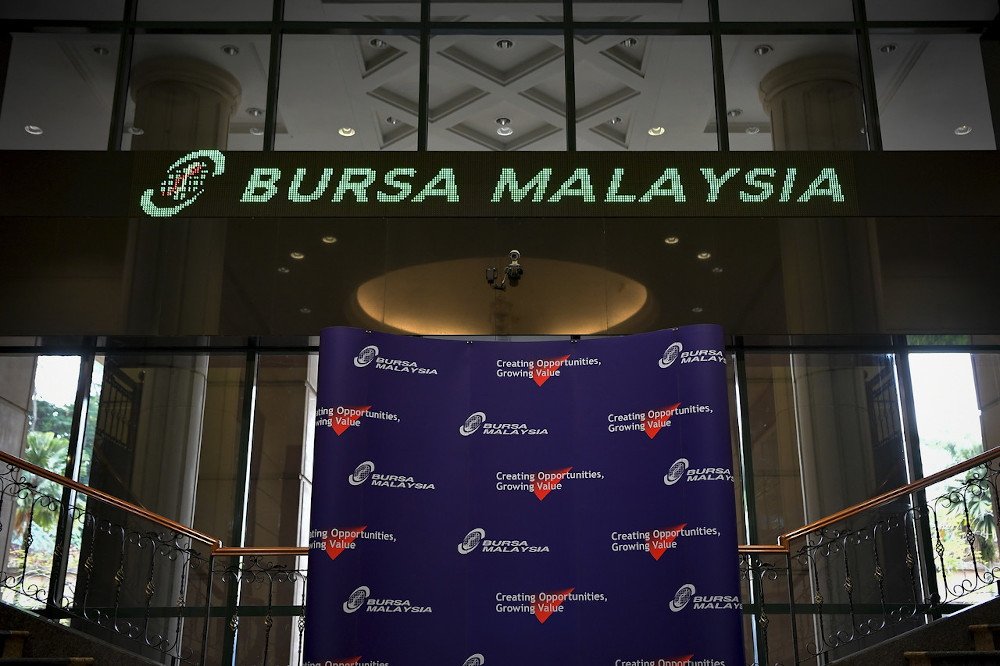 Bursa Malaysia is poised for an upward momentum next week. — Bernama pic