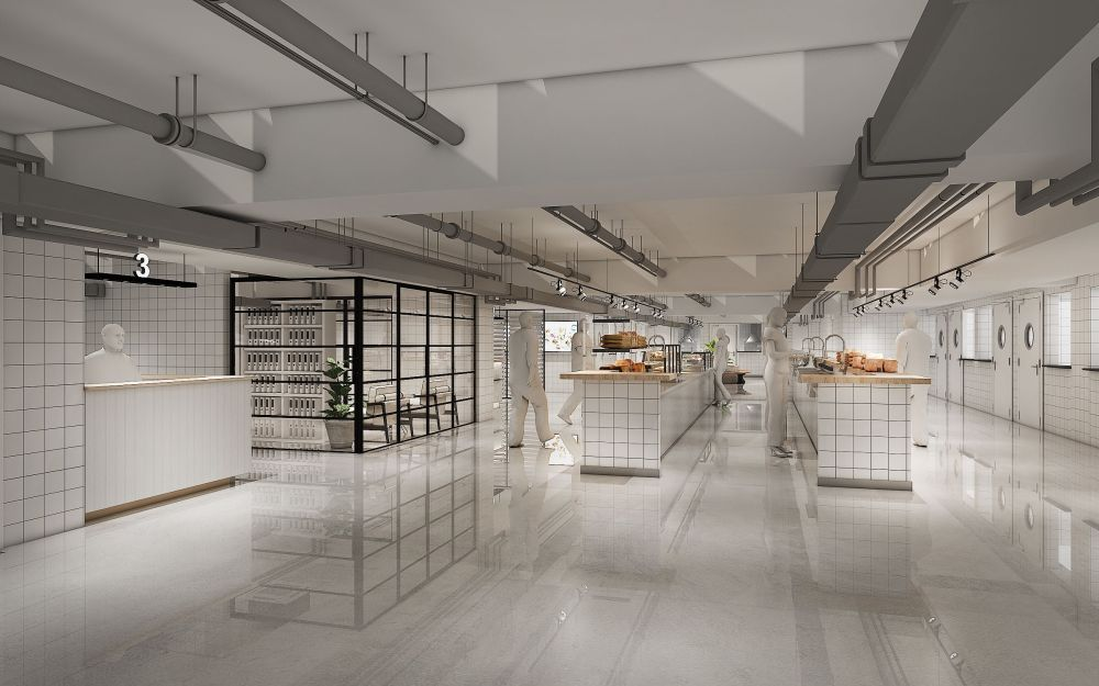 Focus Dynamics Berhad is venturing into their maiden cloud kitchen project as seen in this 3D sketch. — Picture courtesy of Focus Dynamics Berhad