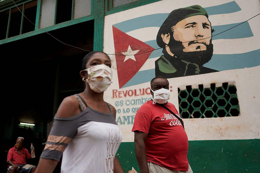 Cuba is seeing higher Covid infection and death rates than at any other point in the pandemic there. — Reuters pic