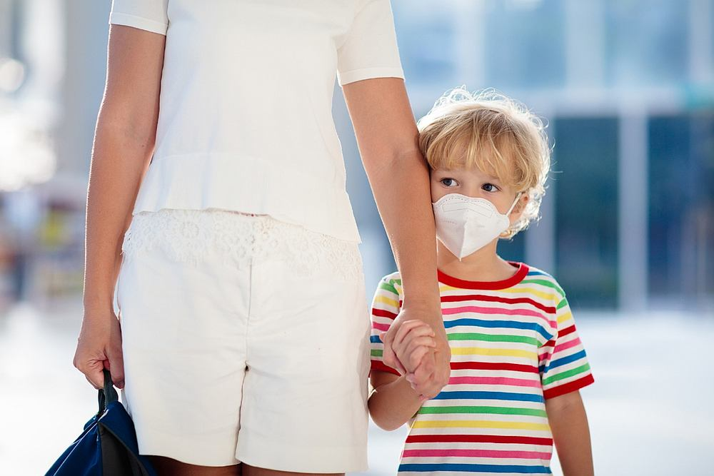 According to a study, 19 per centveof children infected with the virus had no symptoms, 5.6 per cent suffered from co-infections and 3.3 per cent were admitted to intensive care. — FamVeld / IStock.com pic via AFP