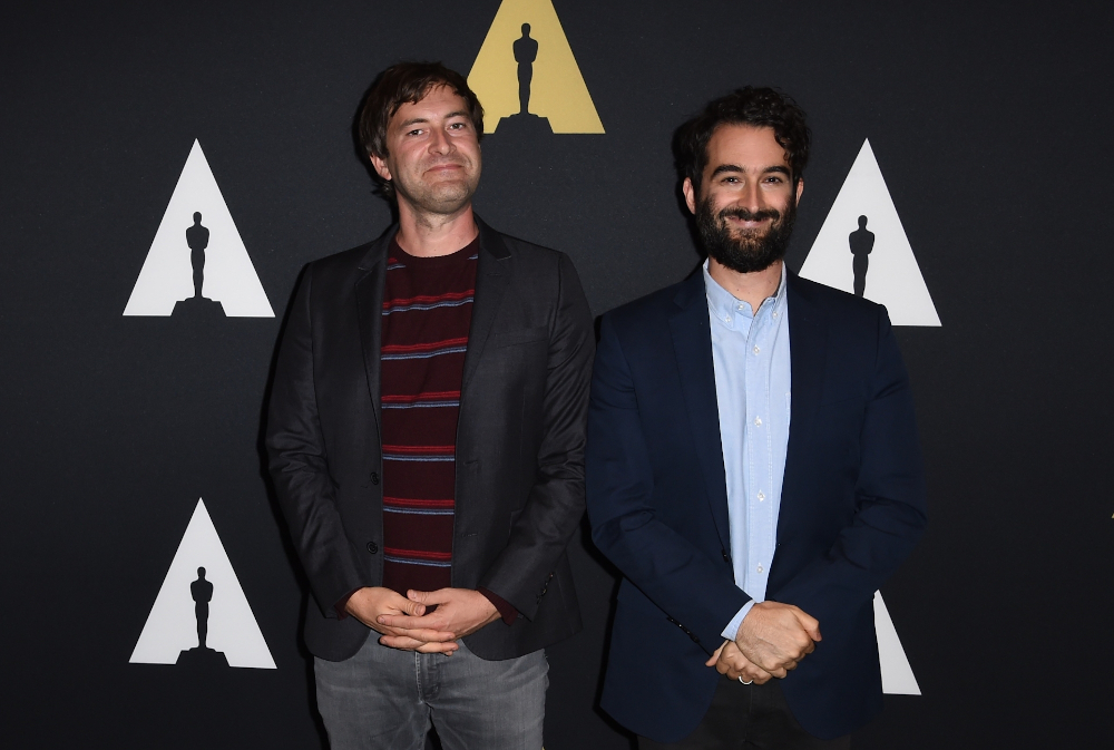Filmmakers Mark Duplass (left) and Jay Duplass arrive for 'This is Duplass: An Evening With Mark and Jay,' October 6, 2015 at the Academy of Motion Picture Arts and Sciences in Beverly Hills, California. — AFP pic