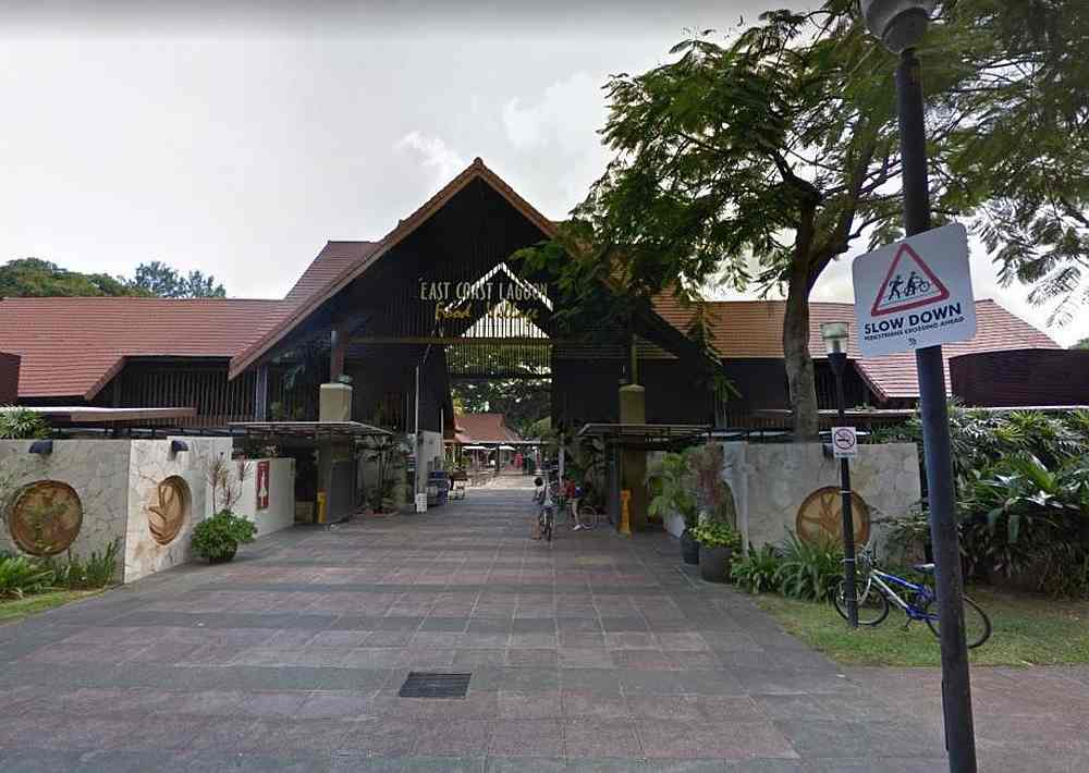 The entrance to East Coast Lagoon Food Village, a popular hawker centre at East Coast Park in Singapore. — Google Maps image via TODAY