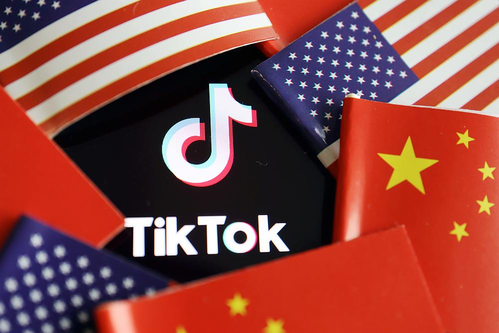 The US Treasury yesterday said it had extended by seven days the November 27 deadline given to the Chinese owner of TikTok to sell the popular social media platform's American business. — Reuters pic