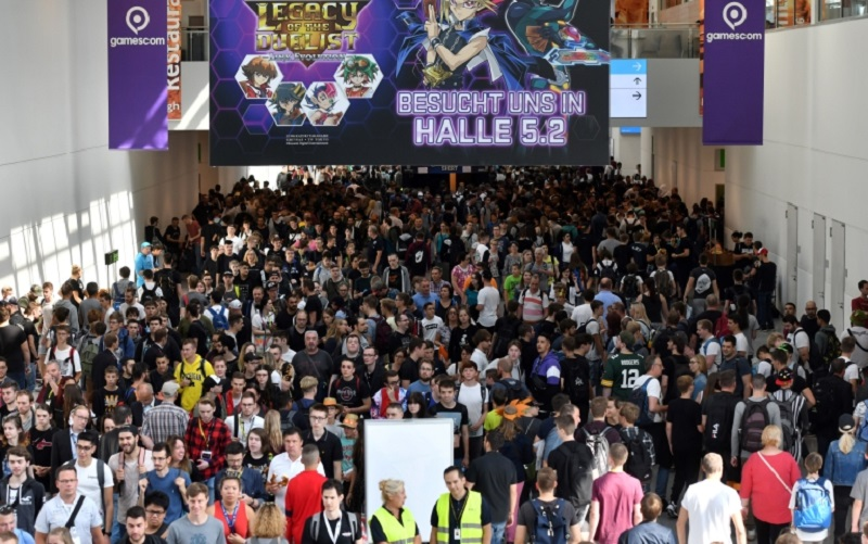 An estimated 373,000 visitors and exhibitors attended Gamescom 2019 (pictured), and over 500,000 watched its Opening Night Live. ― AFP pic