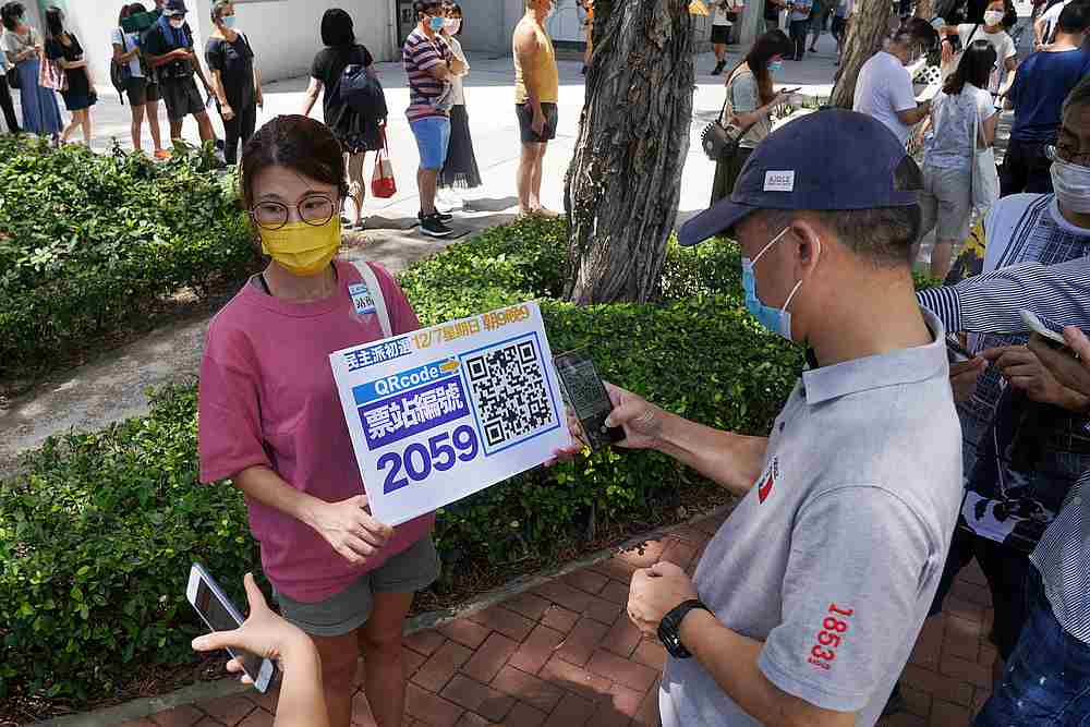 Since late January, around 3,700 people have been infected in Hong Kong. — Reuters pic