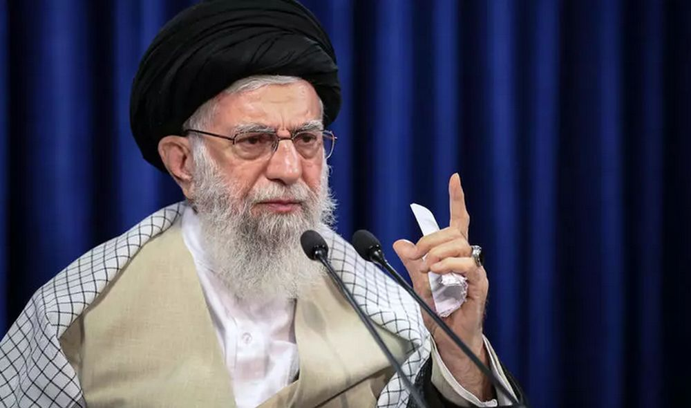 Khamenei said the current US administration was 'no different' from the previous one. — AFP pic