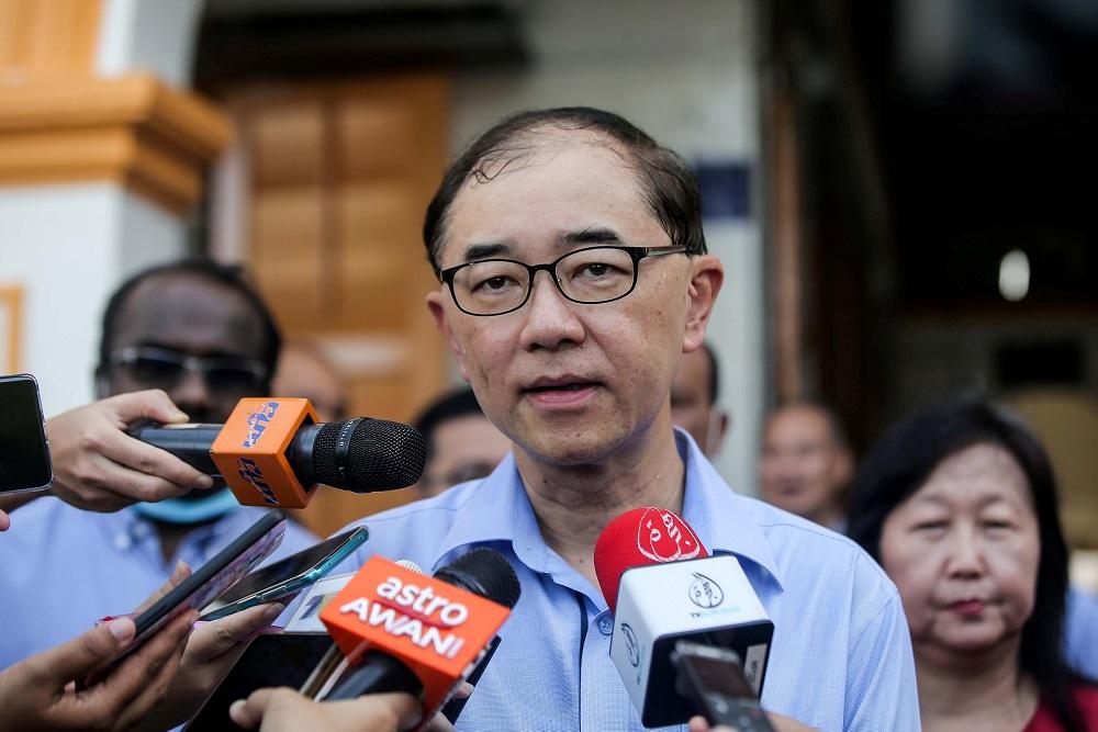 马汉顺说,教育部尚未决定是否会将哈芝节列为特别假期。-Farhan Najib摄-