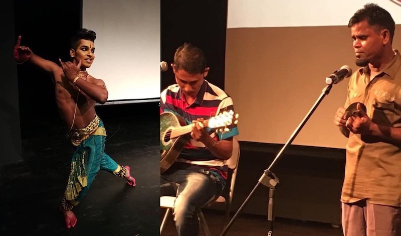 Performances by artists at last year's Refugee Fest which took place in George Town, Penang. — Picture courtesy of Mahi Ramakrishnan