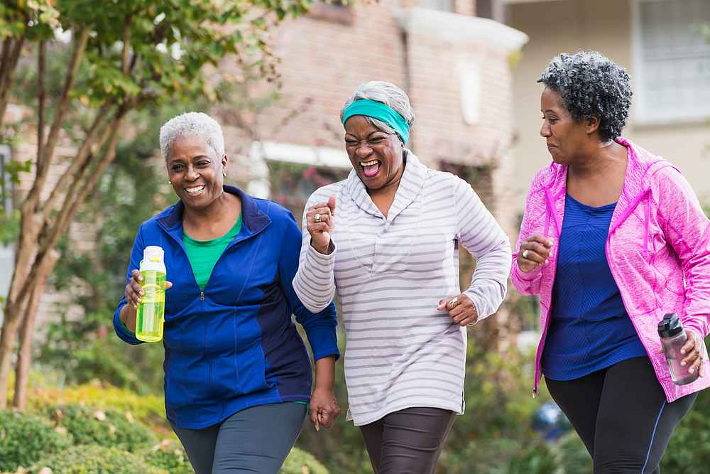 Making healthy lifestyle changes could help menopausal women reduce their risk of metabolic syndrome according to researchers. — Susan Chiang/Istock.com via AFP