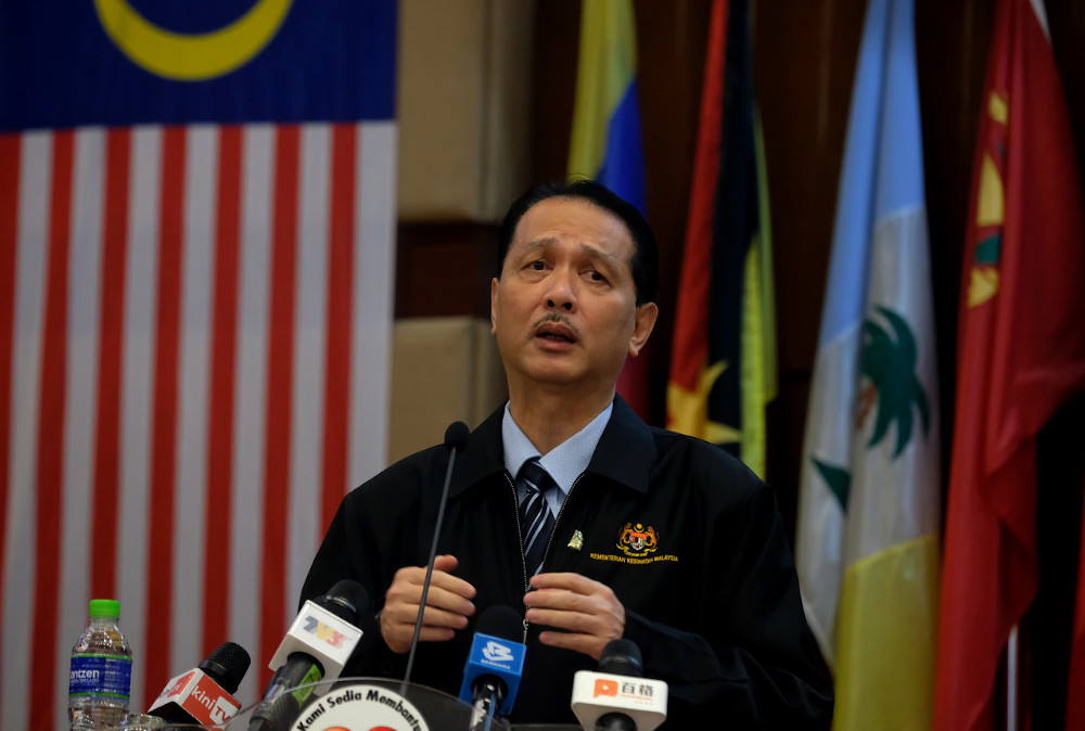 Health director-general Datuk Dr Noor Hisham Abdullah said a total of 14 new Covid-19 cases has been reported in Malaysia today. — Bernama pic