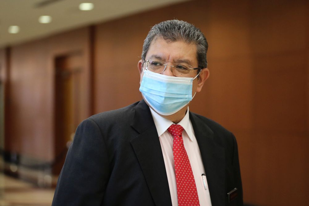Communications and Multimedia Minister Datuk Saifuddin Abdullah said the Communications and Multimedia Ministry would always ensure a high level of trust among the people towards the technology introduced before moving to undertake digital transformation. — Picture by Yusof Mat Isa